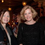 Jenny Lantz of Svensk Form Board with friend