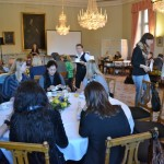 Press breakfast for foreign journalists at the Foreign Ministry