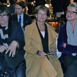 Minister of Culture, Lena Liljeroth Adelsohn came to H&M award, here between H&M:s Margareta van den Bosch and Ingrid Giertz-Mårtenson of Swedish Vision