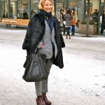 Lady Number one during the Fashion Week, Lena Patriksson, chairman of ASFB and CEO + founder of Patriksson Communication