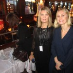 Iron ladies behind the organisation Gunilla Grûbb and Christine Carendi of the Association of Swedish Fashion Brands