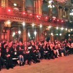 Audience at Berns Salonger, where many shows took place