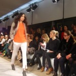 Orange accents in Filippa K Woman
