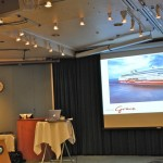 Lecture by dSign on the new cruise ship Grace, ready to sail in January 2013