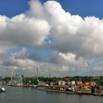 Returning into the habor of Stockholm