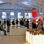 Livsmedel- the whole exhibition space built as a shopping center