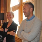 Anna Romboli of Ergonomidesign and Jens Kallin of Skapa