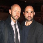 Niklas Arnegren, Swedish Consulate New York, and Mikael Schiller, Executive Chairman of Acne Studios
