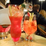 Campari and aperol - very Milano