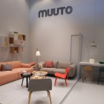 Muuto with pastels, spring green and pink-apricot
