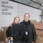 Creative curators: Sara Szyber of New Makersa and Doers and Mattias Westelius for the Whole Swedish Design Goes Milan