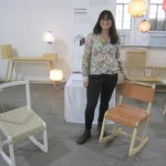 Charlotte Arvidsson at Designersblock: a chair with comfort for working