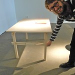 Gustav Persson - poetry in joints of furniture, craft skills