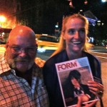 Angelina Jolie, PR guru in New York, happy with the latest issue of Form