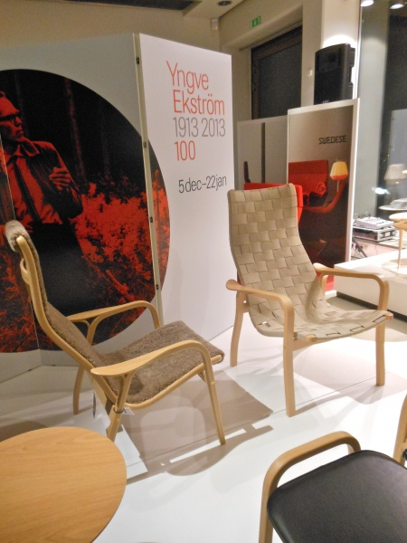 Yngve Ekström's classic chair Lamino, still a best seller for Swedese