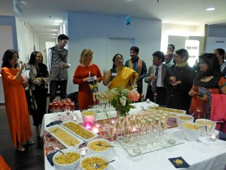 Indian opening of design exhibition