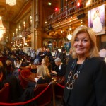 Yvonne Sörensen, big boss at Berns, overlooking the Stockholm Fashion Week