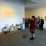 Onita Waiss opening the exhibition  India Past Forward at Millesgården