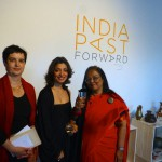 Three power ladies. Onita Waiss, Divya Thakur and Indian Ambassador