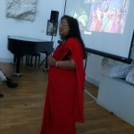 Amazing ambassador Banashri Bose Harrison making an India PechaKucha