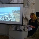 Signe Johannessen presenting Gnesta Artlab and her connection to india, and upcming Swamp storytelling