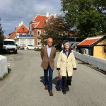 The Chairman Magnus and Märta Christina Vahlquist