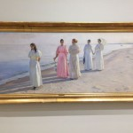 The romantic famous P.S. Kröyer beach paintings