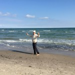 Krister and the sea