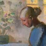 Painting by Anna Ancher
