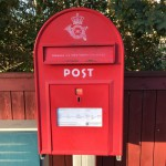 In Denmark they still keep their red mail boxes