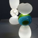 Camilla Mobergs beautiful glass lamps