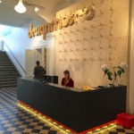 Finnish Design - fiskars sissors - decorate the reception desk