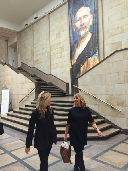 with Miska Miller Lovegrove, the initiator at the National Museum