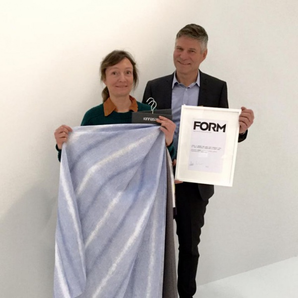 Inga Sempé selects Kinnasand to the Form +1 award this year