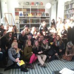 60 Brazilian visitors at Svensk Form from furniture company Saccaro