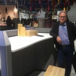 Poul Christiansen, Danish designer with new seamless desk for Abstracta