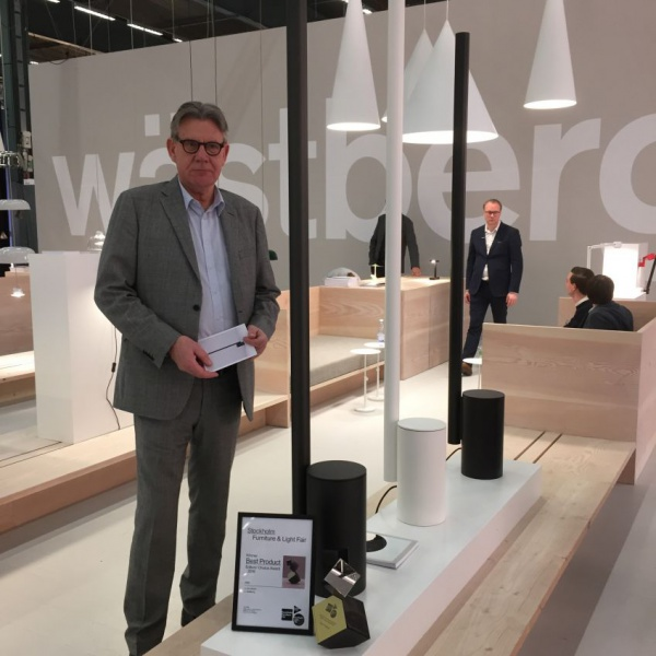 Wästberg proud of his Elle Award