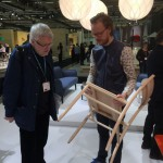 David Ericsson explains his celebrated and awarded Madonna chair for Ulf Hanser, designer