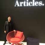 Björn Dahlström launches new brand at the fair. Articles