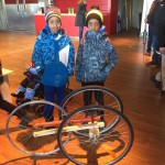 Young bike designers from Somalia at Kulturhuset Stadsteatern