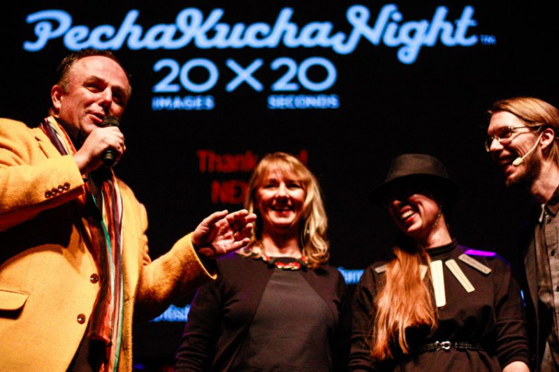 Mark Dytham commenting Emma and Fredrik of Färg & Blanche
