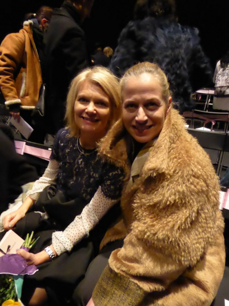 Gunilla Grübb and Emma Ohlsson, ASFB and responsible for the Fashion Week Stockholm