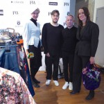 Jenny Bergström and Rebecca Ahlstedt of Swedish Institute visits the brands of Swedish Fashion Talents