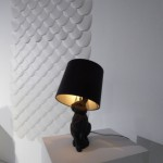 Front lamp, and wallpaper for Wall Vision