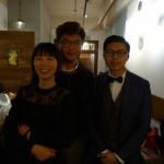 Hsyini Hu and her exhibition team, architecture and design