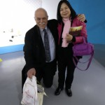 Professor Dr Köpke from the Fülkerkundemuseum in Hamburg, who made our very first contact with Blue Dragon Art Company and the manager Wang Yuling -the beginning of it all