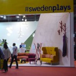 Entrance to the Swedish Stand