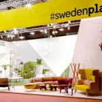 Image from our latest joint Swedish design promotion at the Milan Furniture Fair