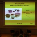Elin Trogen presents the nominees of Design S 2016