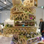 High rise model in wood